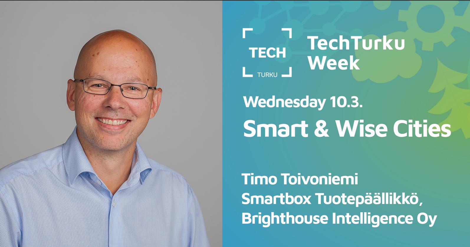 Smart & Wise Cities, TechTurku Week – SmartBox