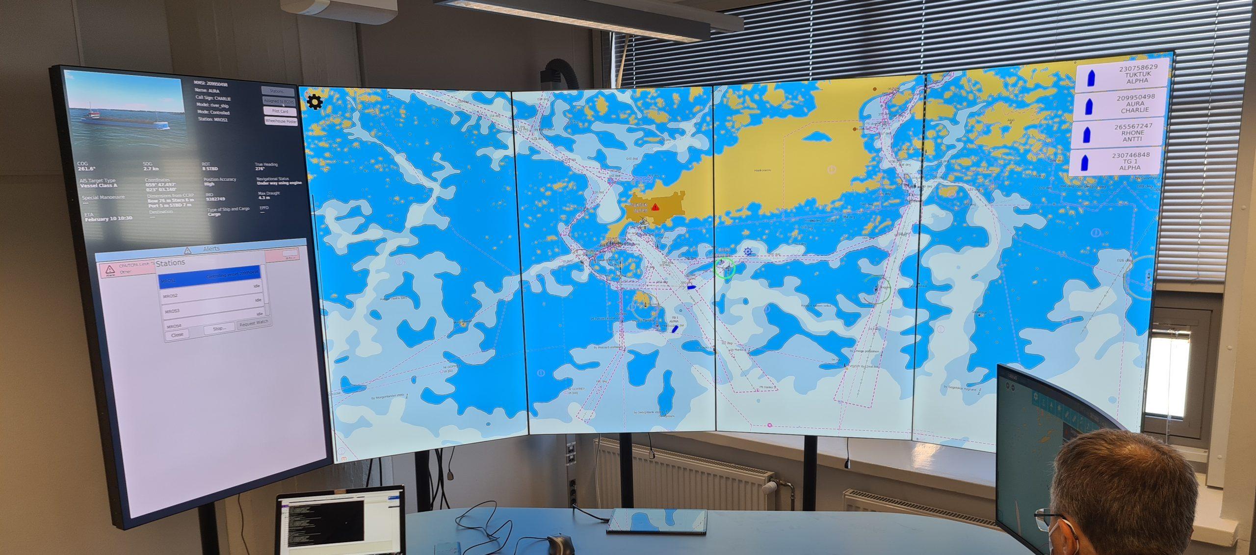 Aboa Mare Autonomous Vessel Remote Operations Center (AMROC) has been released